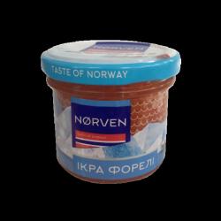 """Ікра солено-морожена """"Класичний посол"""" 0,5 кг (форелі)"""