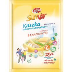 Каша молочно-кукурудзяна зі смаком банана 50г