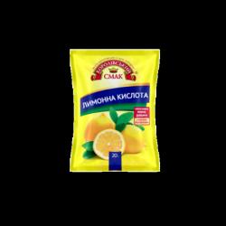 """Лимонна кислота 20 г ТМ""""Чемпіон"""""""