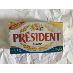 Масло 72% 0,200г. Президент (На сайті:2)