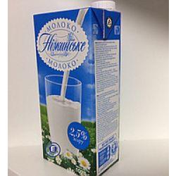 Молоко ультрапаст 2,5% 1л Ніжинське