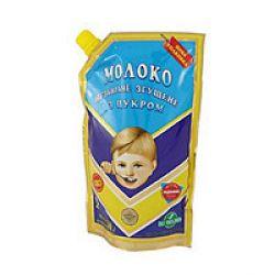 Молоко згущене Первомайськ з цукром  дой пак 290 г