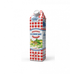 Молоко ультрапастеризоване 3,2% 950г Снлянське