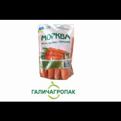 Морква  мита 1 кг