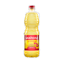 Олія соняшникова рафінована 1л Майола