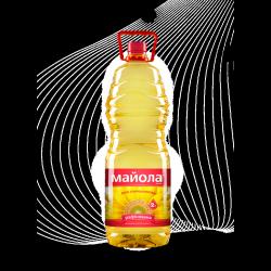 Олія соняшникова рафінована 2л Майола