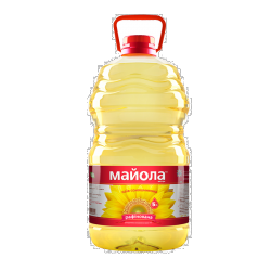 Олія соняшникова рафінована 5л Майола