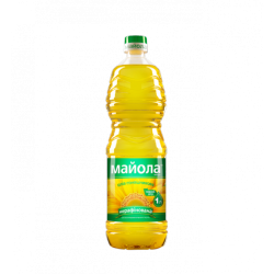Олія соняшникова нерафінована 1л Майола