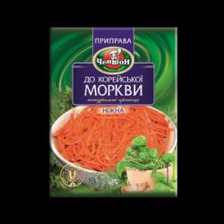 Приправа до корейської моркви Ніжна 30г Чемпіон