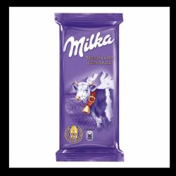 Шоколад Milka в асорт.