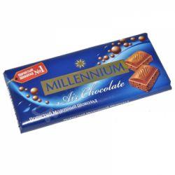 Шоколад пористий молочний 85г  Millennium