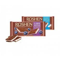 Шоколад Roshen мол. з чорничною нугою 90 г