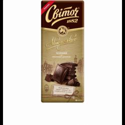Шоколад Авторський Чорний класичний 85г Світоч