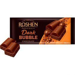 Шоколад Рошен чорний пористий 85 г