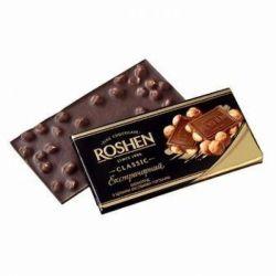 Шоколад Рошен  з цільним лісовим горіхом 90 г