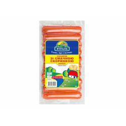 Сосиски зі смачною скоринкою 1 сорту 395 г