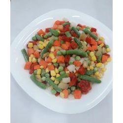 Суміш овочів Мексиканська морожена фасована 1кг
